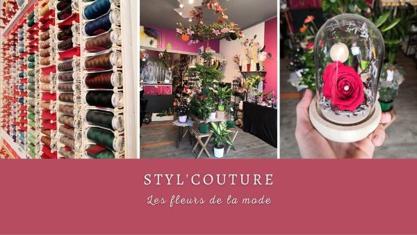 """Styl'couture """"Les fleurs de la mode"""" - image 1"""