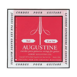 Jeu cordes guitare classique Augustine - CAU ROUGE - Accessoires pour instruments de musique et ...