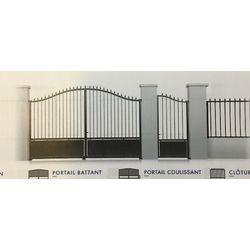 Portail en Acier  Battant Modèle LOIRET  largeur 3000 mm