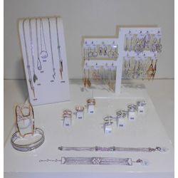 Collection bijoux fantaisie en argent
