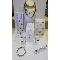 Parures de bijoux avec perles de Tahiti