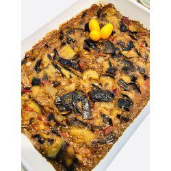 Suggestion du jour : moussaka gourmande et riz basmati