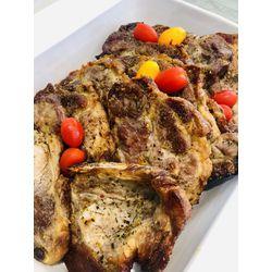 Suggestion du jour : grillade de porc et french potatoes
