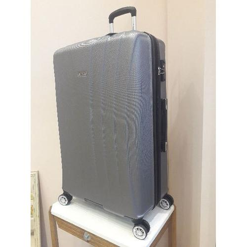 Grande valise grise polycarbonate