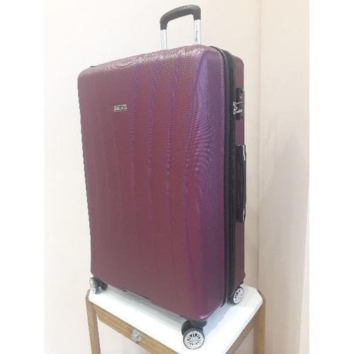 Grande valise violette polycarbonate