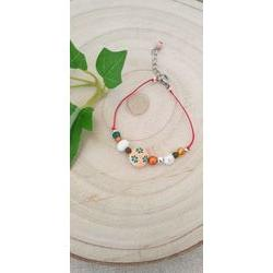 Bracelet enfant multicolore.