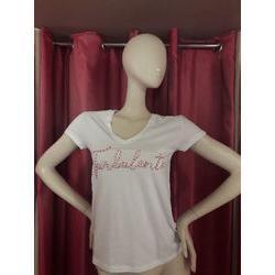 T-shirt Blanc turbulente