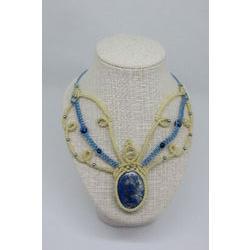 Collier PapillonLapis Lazuli