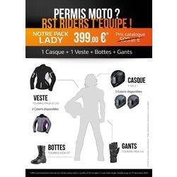 Pack permis moto Femme 2020