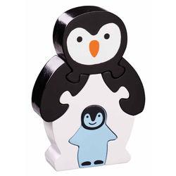 Puzzle Pingouin et bébé