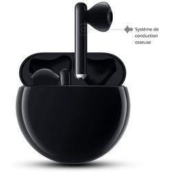 HUAWEI FreeBuds 3 Ecouteurs Sans-fil avec Réduction Active du Bruit (Bluetooth 5.0, Chargement Sans-fil, Processeur Kirin A1, Temps de Latence Ultra-faible, Autonomie Jusqu'à 20 Heures), Noir