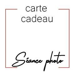 Bon cadeau Séance photo en studio à offrir