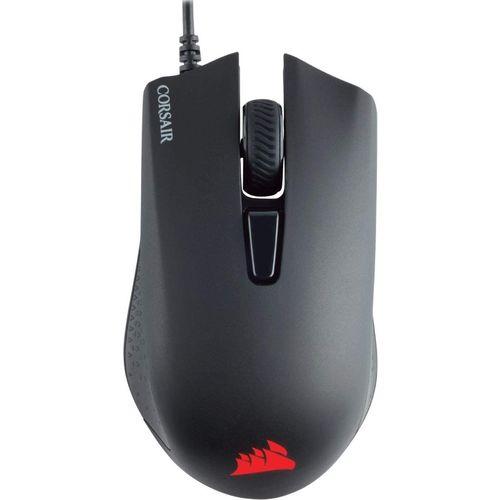 Corsair Harpoon PRO RGB, FPS/MOBA Optique Souris Gaming (12000DPI Optique Capteur, Légère, 6 Boutons Programmables, Rétroéclairage LED RGB) - Noire