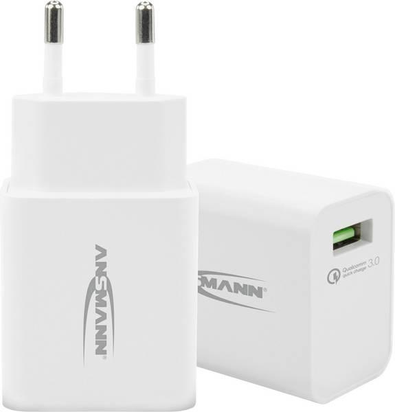 CHARGEUR SECTEUR 1 PORT USB QC 3.0348372 - image 2