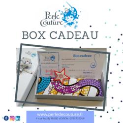 """BOX CADEAU """"Atelier couture intergénérationnel """""""