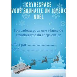 Bon Cadeau Séance de Cryothérapie