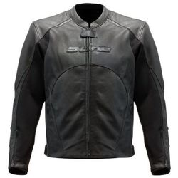 S-Line - Blouson Cuir Racing Perforé BLACK SERIES Homme