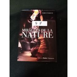 Livre miracles de la nature