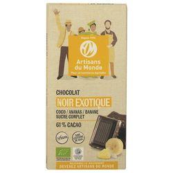 chocolat bio Noir Exotique 100g