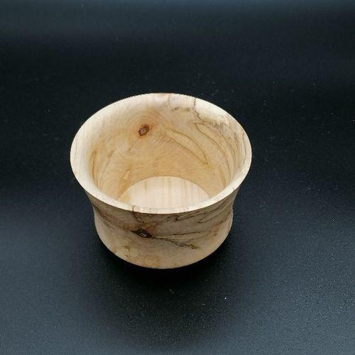 Pot en bois - 10 cm.