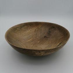 Coupe à fruits en bois - 23 cm