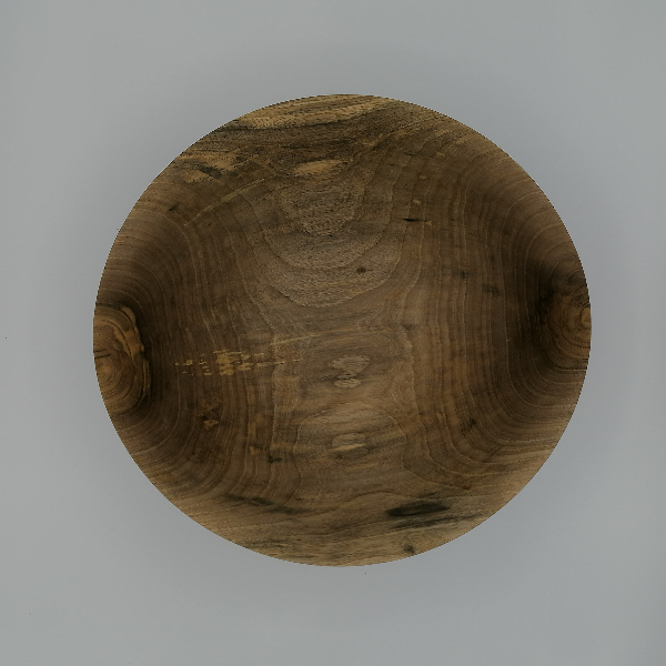 Coupe à fruits en bois - 30,5 cm - image 1