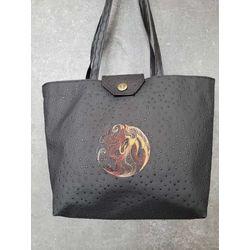 sac simili noir