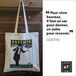 Sac vintage Antésite APOTHICAIRE