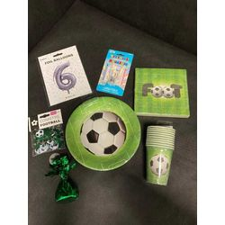 Kit anniversaire football (ballon helium)