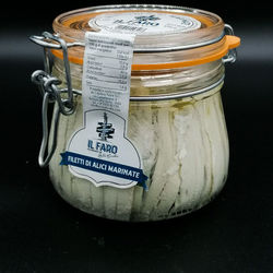 Filets d'anchois marinés - IL FARO  - 550g