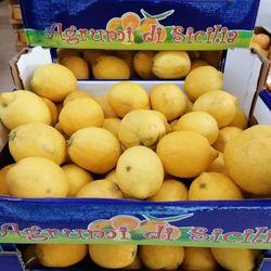 Citrons de Sicile, non traités - 6kg