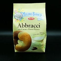Biscuits italiens Abbracci au cacao et à la crème - 350g