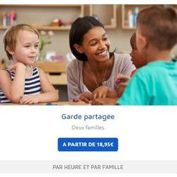 Garde d'enfant partagée éducative