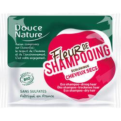 Fleur de shampoing - cheveux secs - Bio