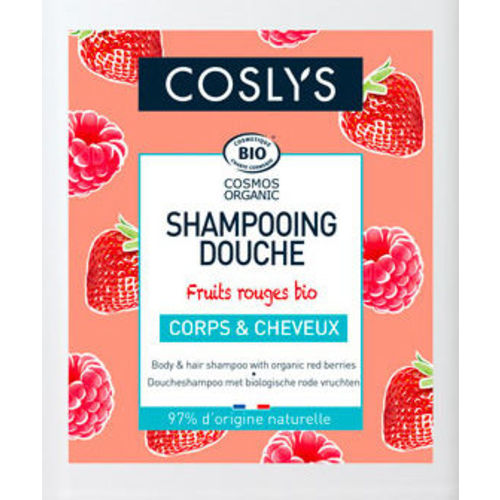 VRAC - Shampoing douche corps et cheveux fruits rouge bio - Coslys