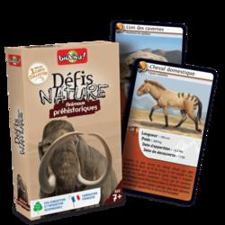 Jeu de cartes - Défis nature Animaux préhistoriques- Bioviva