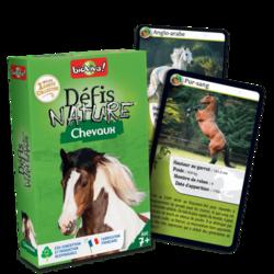 Jeu de cartes - Défis nature Chevaux - Bioviva