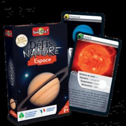 Jeu de cartes - Défis nature - Espace- Bioviva
