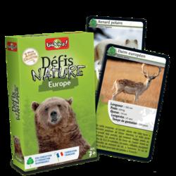 Jeu de cartes - Défis nature - Europe- Bioviva