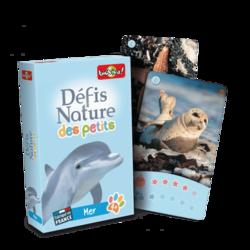 Jeu de cartes - Défis nature des petits - Mer- Bioviva
