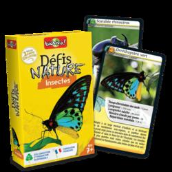 Jeu de cartes - Défis nature - Insectes- Bioviva