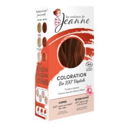 Coloration végétal Cuivré intense - Les couleurs de Jeanne - copie