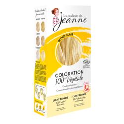 Coloration végétal Blond clair - Les couleurs de Jeanne