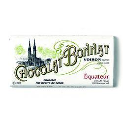 Tablette chocolat noir 75% cacao Equateur