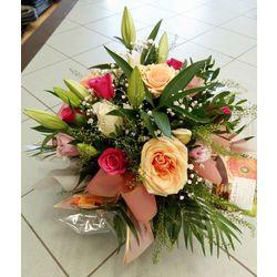 Bouquet bulle deuil