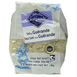 Gros sel gris de Guérande - Le Paludier de Guérande - 1kg