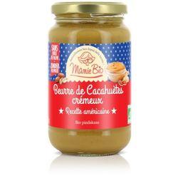 Beurre de cacahuète crémeux BIO - Mamie Bio - 350g