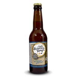 Bière blanche BIO Au temps pour moi - Les Bières du temps - 33cl