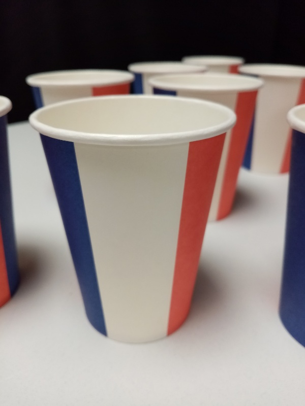 10 Gobelets supporters France - 220 ml - image 1