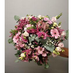 Bouquet d'été ton rose